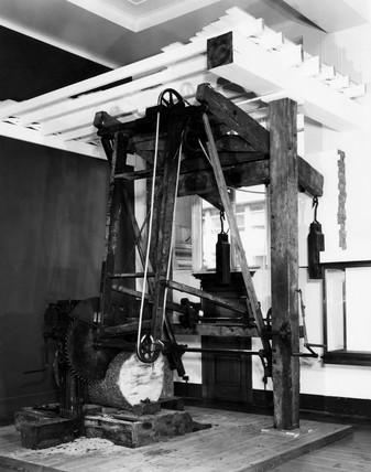 Pendulum saw, 1803.