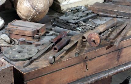 James Watt's workshop, 1790-1819.