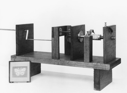 Shelford Bidwell's picture transmitter and receiver, 1881.