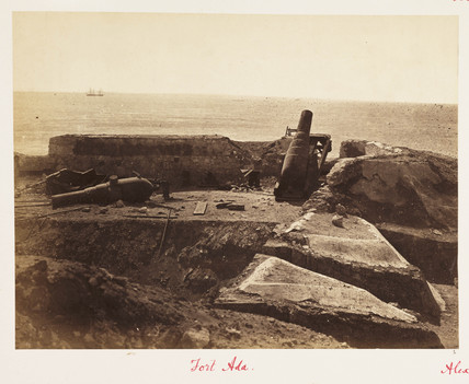'Fort Ada, Alexandria', 12 November 1882.