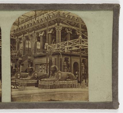 The Assyrian Court', 1852.