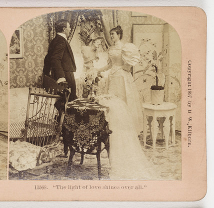 The light of love shines over all', 1897.
