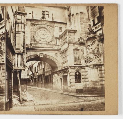 Normandie (Rouen) - La Vieille Horloge', c 1865.