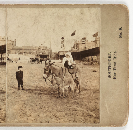 Southport. Her First Ride', 1905.