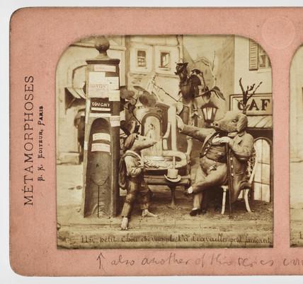Un petit chousi vous ple, Va travailler petit faineant', c 1865.