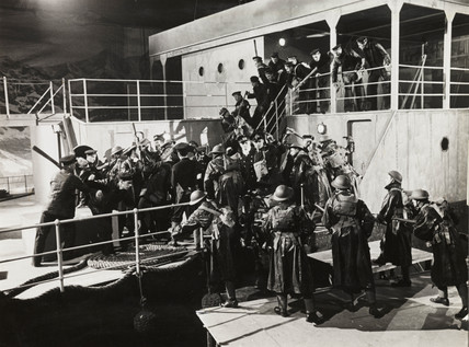 Boarding party, 1940.