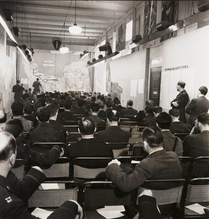 War correspondents' briefing,  15 June 1944