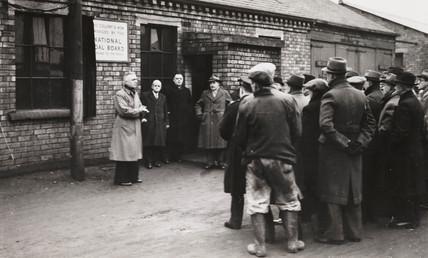 Tyldesley Pit NCB opening ceremony, 1947.