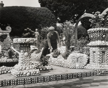 Shellscape garden, 7 August 1961.