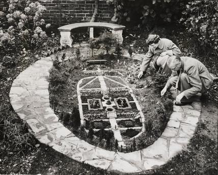 Model garden, Folkestone, 1 December 1954.