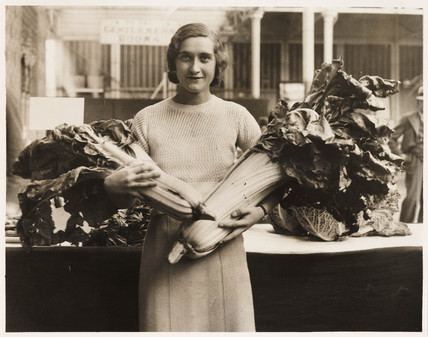 Monster vegetables, Crystal Palace, 19 September 1934.