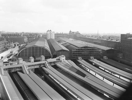 Paddington Station, London, 1934.