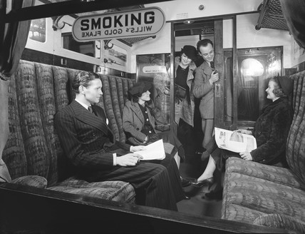 Smoking carriage
