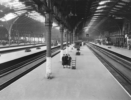 Paddington Station, London, 9 June 1942.