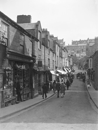 Tregenna Place, St Ives, Cornwall, c 1920.