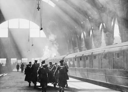 King's Cross station, about 1942