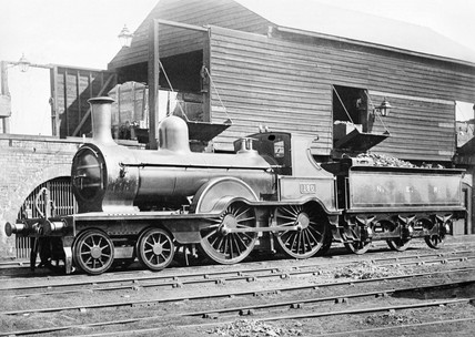 North Eastern Railway locomotive, 1884