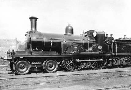 North British Railway locomotive, c 1890