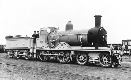 North British Railway locomotive, c 1900