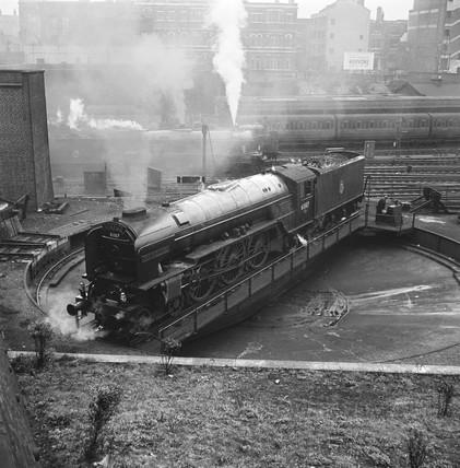 Locomotive number 60117, 1950