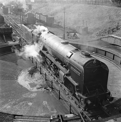 Locomotive number 60523, 1950