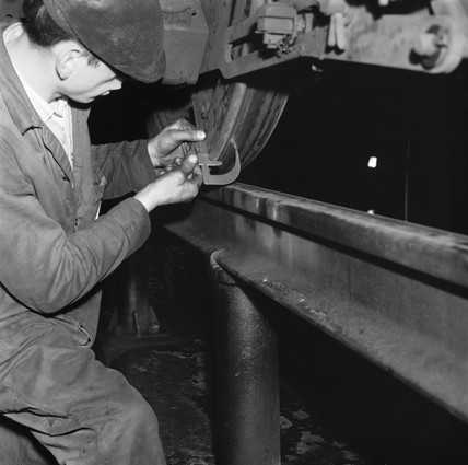 Finsbury Park diesel depot, 23 March 1965.