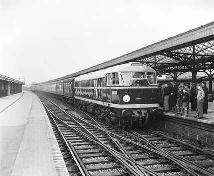 Diesel locomotive, 1957