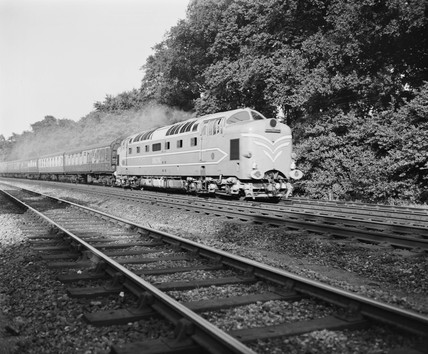 Deltic locomotive, 1959.