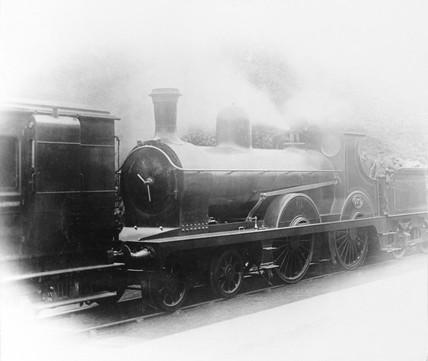 Locomotive number 979, c 1880.