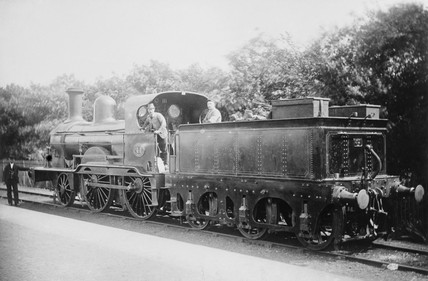 Locomotive number 44, c 1880.