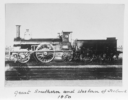 Locomotive number 48, 1850