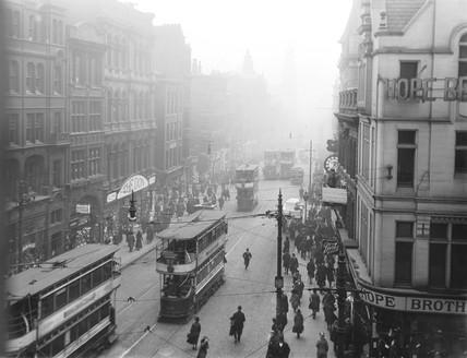 Market Street, Manchester, 15 March 1921.