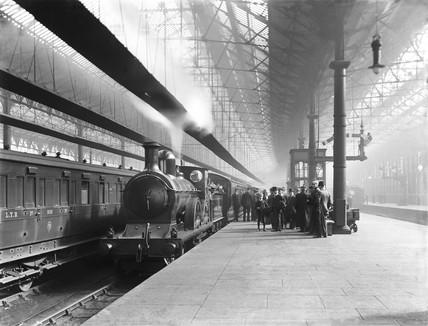 Liverpool Exchange Station, 21 September 1909.