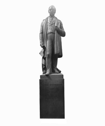 George Stephenson, 1852.