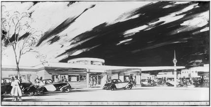 Hoylake Station, Merseyside, 1938.