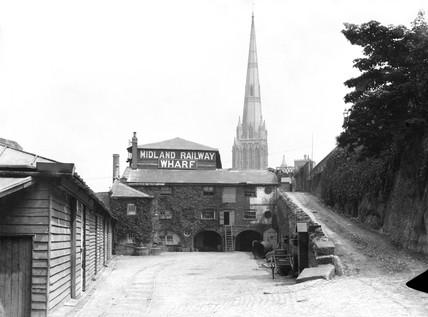 Midland Railway wharf, 1898