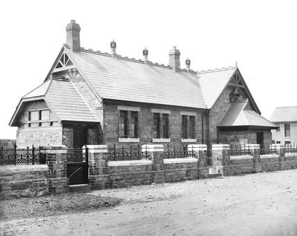 Greenore school, 1881.