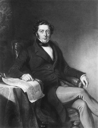 Robert Stephenson, c 1840.