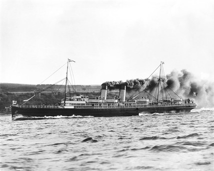 The SS 'Cambria', 1898.