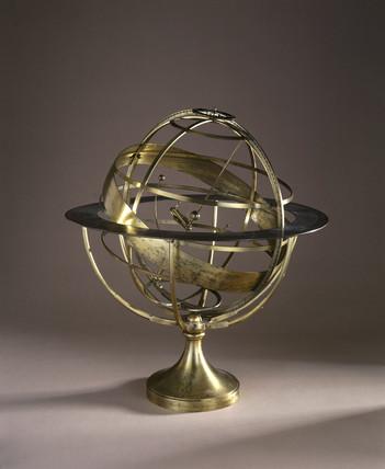 Armillary sphere, 1731.