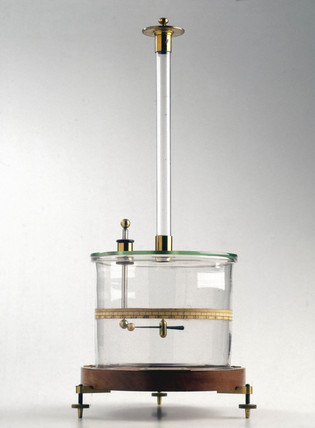 Coulomb torsion balance, 1872.