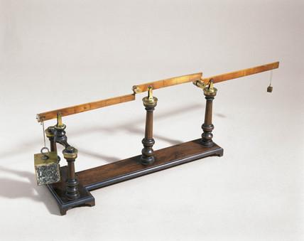 Compound lever, 1762.