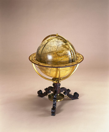 Terrestrial globe, 1766.