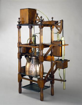 Newcomen steam engine, 1752.