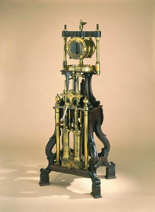 Air pump and condenser, 1761.
