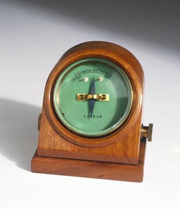 Siemens galvanometer, c 1890.