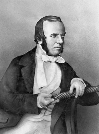John Watkins Brett, British engineer, c 1840s.