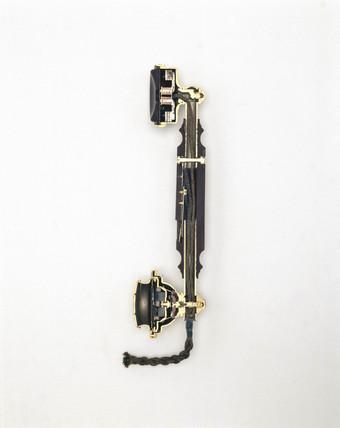 Ericson telephone handset, c 1920s.