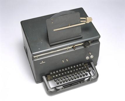 Siemens-Hell-Schreiber stop-start facsimile telegraph, model T, 1956.