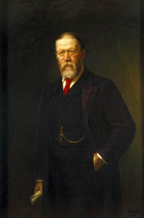 Sir William Henry Preece, Welsh electrical engineer, 1899.